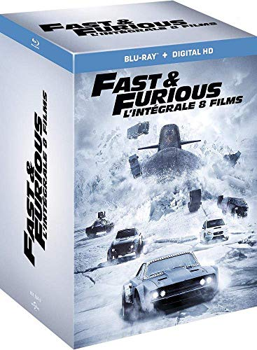 Fast and Furious - L'intégrale 8 films [Blu-ray + Copie digitale] 1